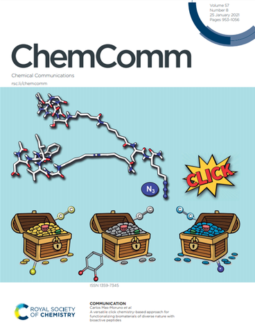 Portada_Chem_Comm_A versatile click chemistry-based approach for functionalizing biomaterials of diverse nature with bioactive peptides.png
